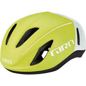 Giro Vanquish MIPS Cykelhjelm, matte citron/white